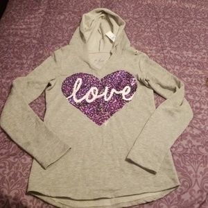 Justice Girl Hooded Top 14